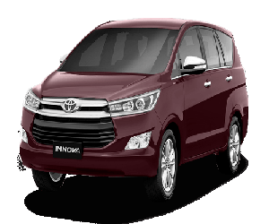 Toyota 7 seater car booking
