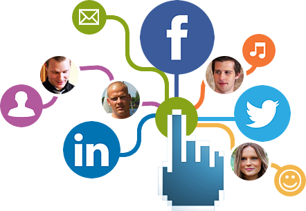 Social media networking Services png