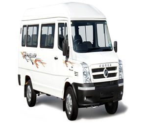 booking 17 Seater tempo traveler